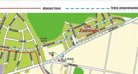 Zmiana trasy kursów komunikacji miejskiej