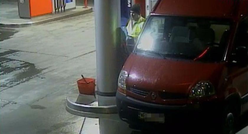 Kradzieże i Rozboje, Zuchwała kradzież litrów paliwa Zatankował odjechał - zdjęcie, fotografia