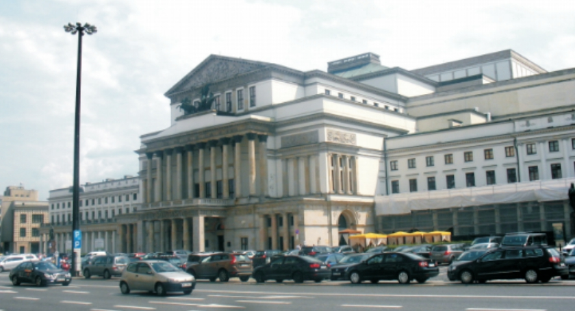 Historia Warszawy, Teatr Wielki - zdjęcie, fotografia
