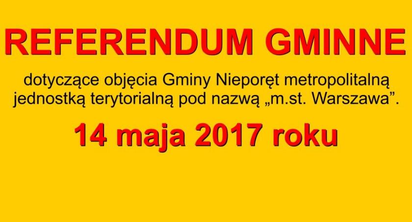 Samorząd, Kolejne referendum sprawie MegaWarszawy Nieporęcie - zdjęcie, fotografia