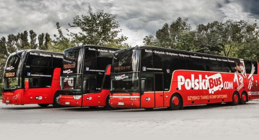 Autobusy, PolskiBus rezerwacją miejsc - zdjęcie, fotografia