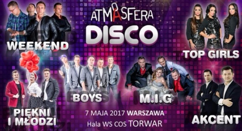 Konkurs , Atmosfera Disco Wygraj bilety koncert gwiazd muzyki disco [KONKURS] - zdjęcie, fotografia