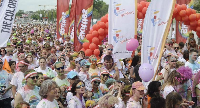 The Color Run by Skittles Warszawa 2017 zdjęcia