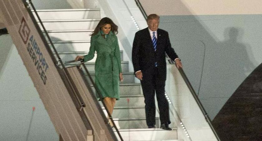 Polityka, Prezydent Donald Trump Polsce - zdjęcie, fotografia
