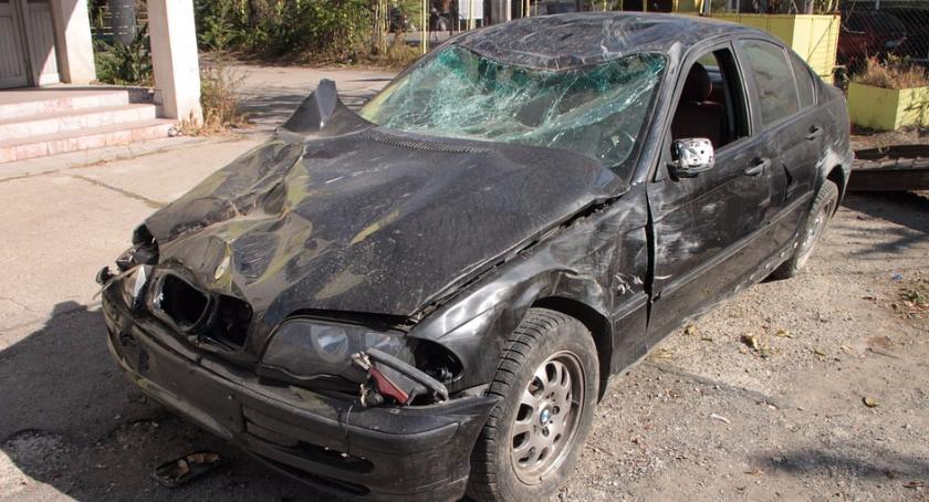 Wypadki, Śmiertelny wypadek Targówku Kierowca żyje - zdjęcie, fotografia