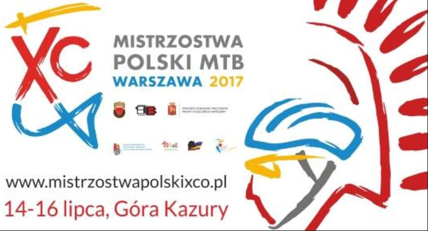 Rower, piątek lipca początek Mistrzostw Polski Kolarstwie Górskim - zdjęcie, fotografia