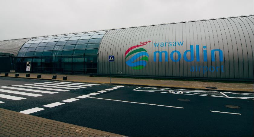 Lotniska, będzie wygladało lotnisko Modlinie kilka - zdjęcie, fotografia