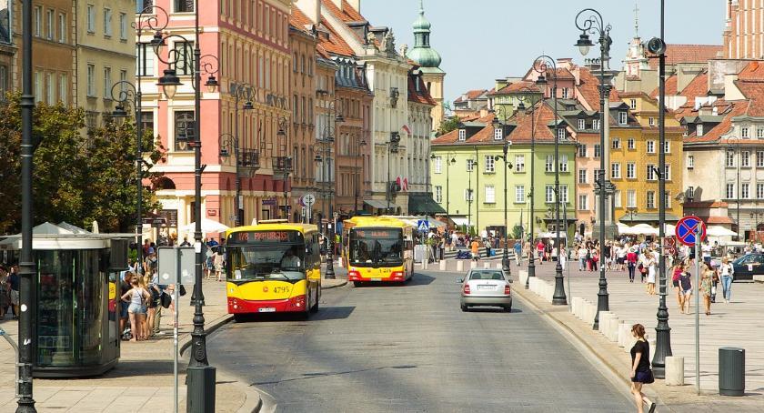Drogi, Kolejny remont Krakowskiego Przedmieścia - zdjęcie, fotografia