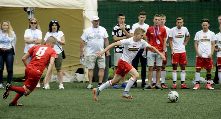 Piłka nożna, Mistrzostwa Świata piłce nożnej dzieci domów dziecka Nadzieja Mundial - zdjęcie, fotografia