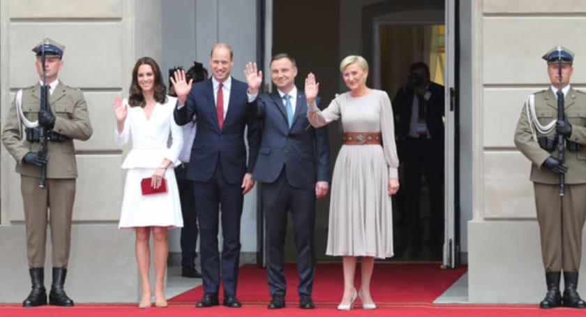 Imprezy, Wydarzenia, Księżna Książę William Polsce! - zdjęcie, fotografia