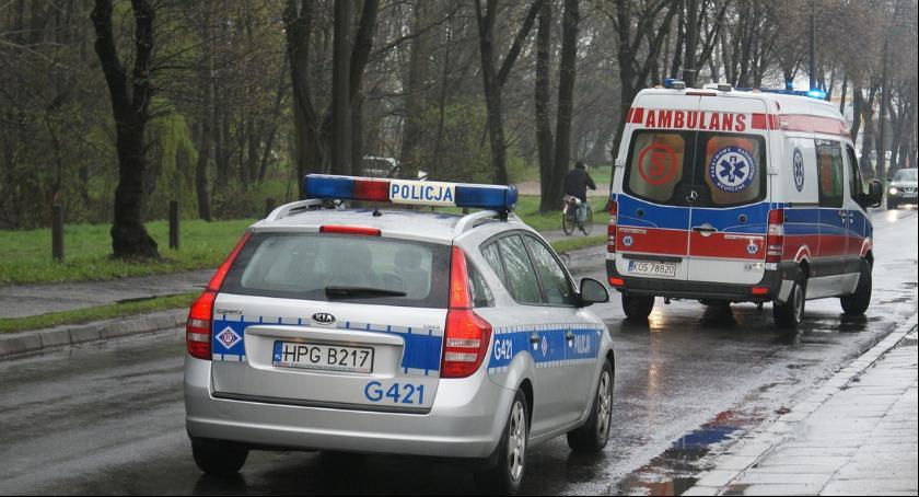 Wypadki, skrzyżowaniu Czerniakowskiej Chełmskiej zderzyły - zdjęcie, fotografia