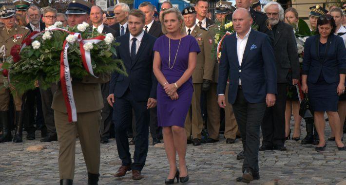 Historia Warszawy, Uroczystości rocznicę agresji Polskę - zdjęcie, fotografia