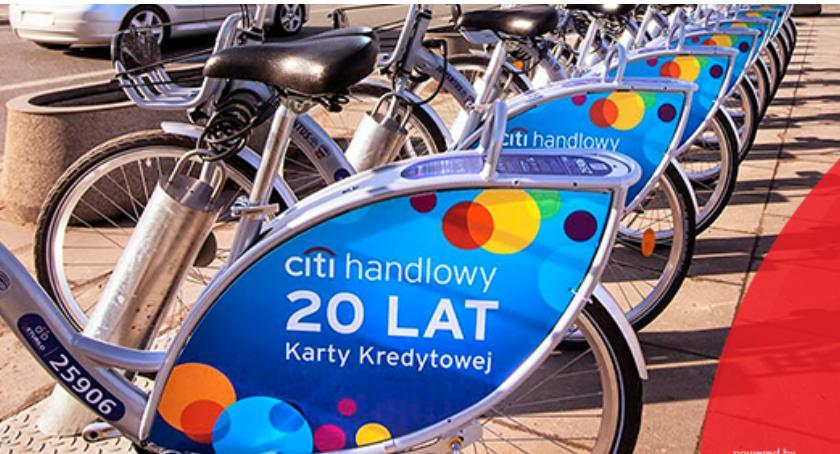 Rower, stacja Veturilo jutra! - zdjęcie, fotografia