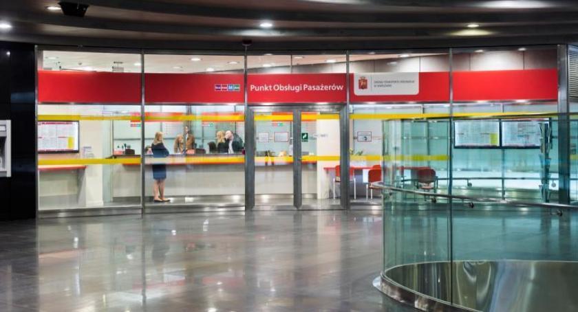 Handel i usługi, Punkty Obsługi Pasażerów Zmiany godzin otwarcia - zdjęcie, fotografia