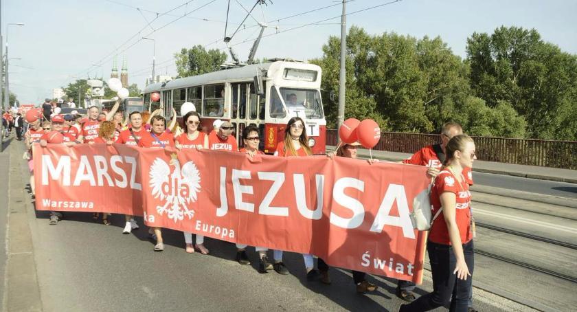 Religia - kościoły - święta, Marsz Jezusa [ZDJĘCIA] - zdjęcie, fotografia