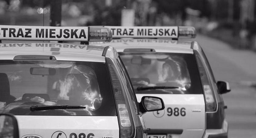 Zabójstwa, Tajemnicze samobójstwo samochodzie straży miejskiej - zdjęcie, fotografia