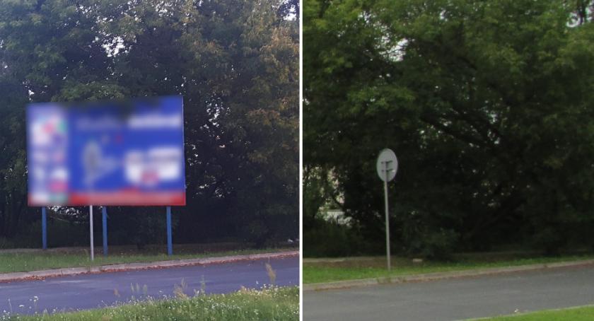 Drogi, Ponad kontroli usuniętych nielegalnych reklam sierpniu Będą kolejne działania - zdjęcie, fotografia