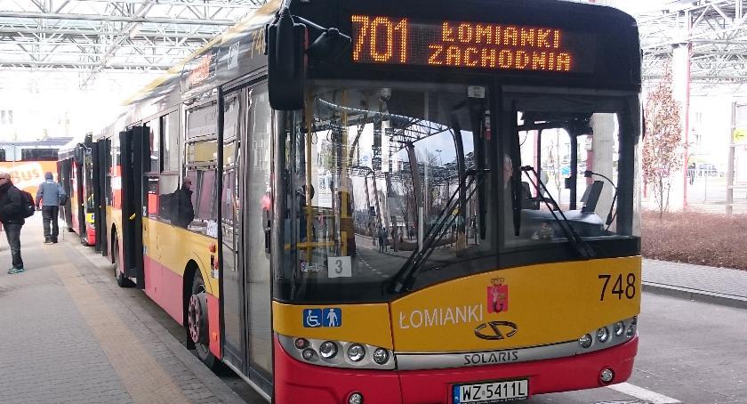 Autobusy, czwartku autobusy Łomianek objazdach - zdjęcie, fotografia