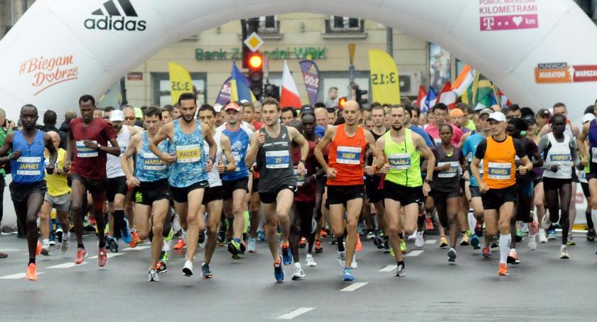 Biegi - maratony, Maraton Warszawski [ZDJĘCIA] - zdjęcie, fotografia