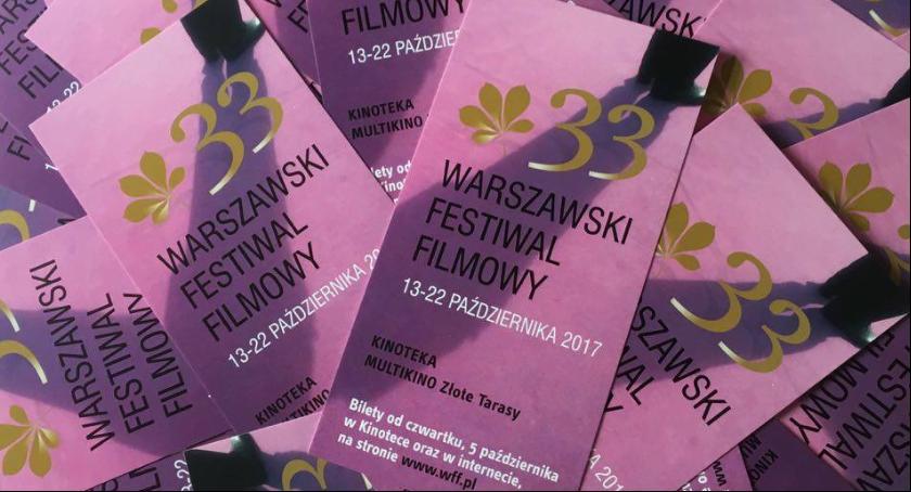Filmy - premiery - kina, Święto Warszawie października rusza Warszawski Festiwal Filmowy - zdjęcie, fotografia