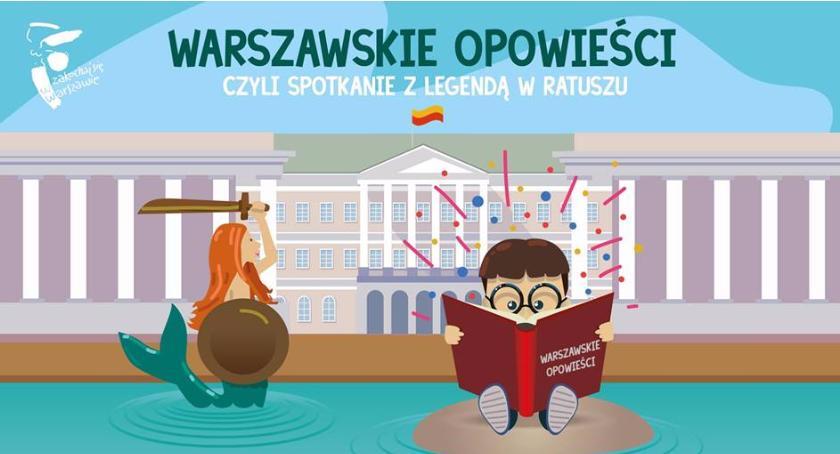 Edukacja, Warszawskie opowieści czyli spotkanie legendą Ratuszu DZIECI] - zdjęcie, fotografia