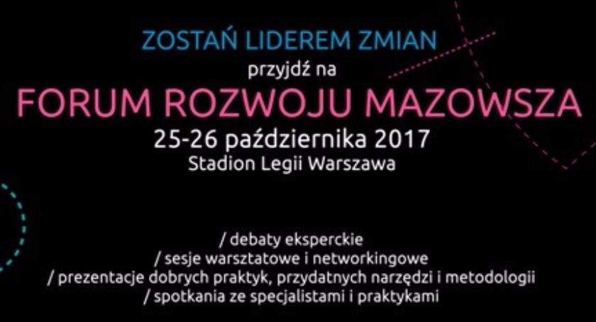 Imprezy, Wydarzenia, edycja Forum Rozwoju Mazowsza stadionie Legii! - zdjęcie, fotografia
