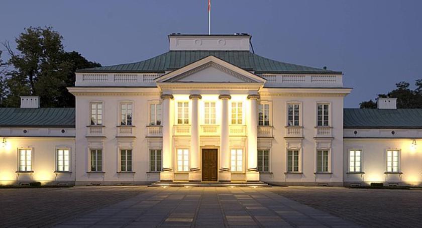 Polityka, Czwarte spotkanie prezydenta prezesem Belweder centrum medialnych wydarzeń - zdjęcie, fotografia