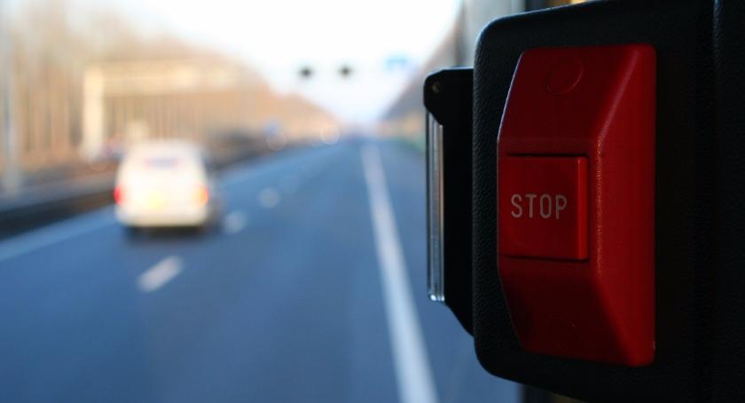 Drogi, Mandat możliwości zakupu biletu kierowcy - zdjęcie, fotografia