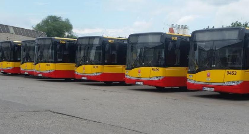 Autobusy, Komunikacja miejska Wszystkich Świętych - zdjęcie, fotografia