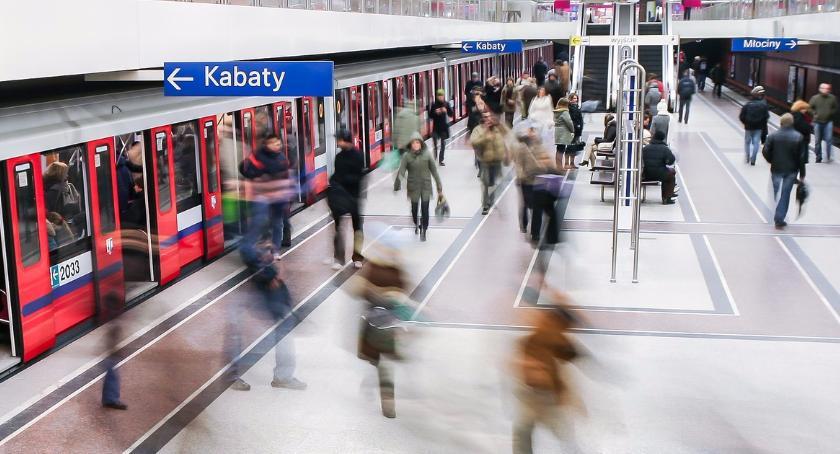 Metro, Poznaj najbardziej zatłoczone stacje warszawskiego metra - zdjęcie, fotografia