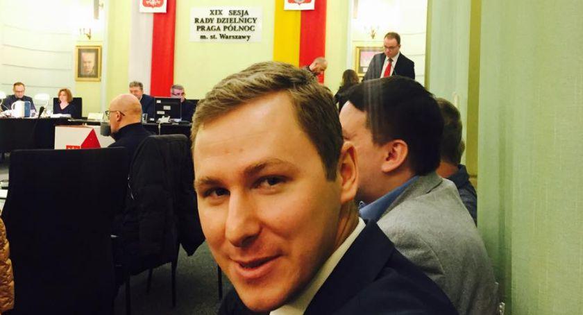 Polityka, Wojciech Zabłocki wybrany nowym burmistrzem Pragi Północ - zdjęcie, fotografia