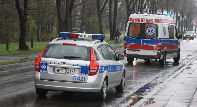 Wypadki, Śmiertelny wypadek Grójeckiej - zdjęcie, fotografia