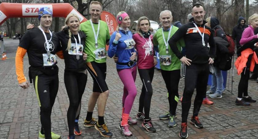 Biegi - maratony, Noworoczny [ZDJĘCIA] - zdjęcie, fotografia