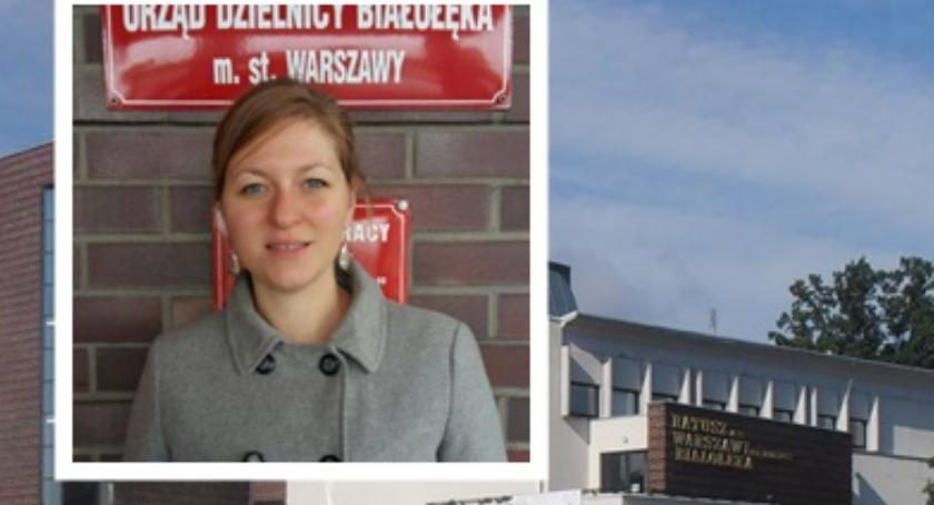 Samorząd, prawomocny wyrok Lucyna Wnuszyńska radną Koniec radzie dzielnicy Białołęce - zdjęcie, fotografia