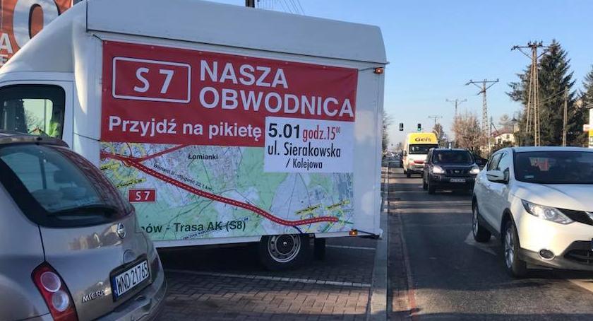 Drogi, Uwaga! blokada krajowej Wylotówka Gdańsk będzie nieprzejezdna! - zdjęcie, fotografia
