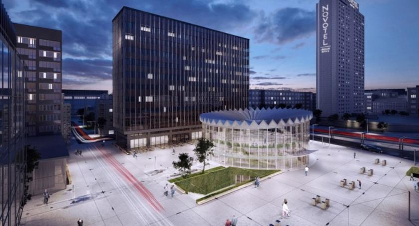 NEWS, Rotunda Cedet Hotel Eurpejski budynki [WIZUALIZACJE] - zdjęcie, fotografia
