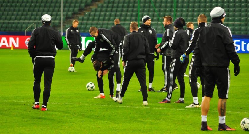 Legia Warszawa, piątek wraca Ekstraklasa początek Legia jedzie Lubina - zdjęcie, fotografia