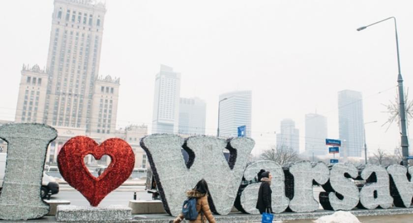 NEWS, Iluminacja Warsaw piątku Marszałkowskiej - zdjęcie, fotografia