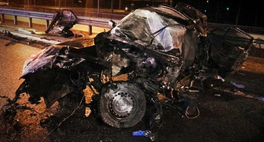 Wypadki, Tragiczny wypadek Jankami [ZDJĘCIA] - zdjęcie, fotografia
