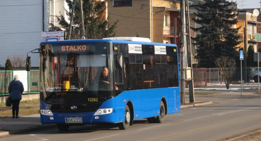 Autobusy, linie autobusowe Zielonce - zdjęcie, fotografia