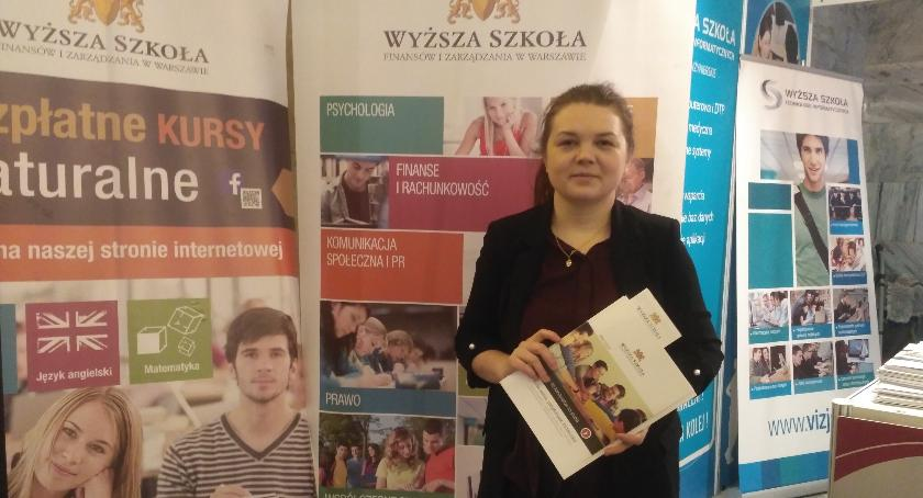 Ludzie PKiN, Katarzyna uczestniczka Targów Perspektywy - zdjęcie, fotografia