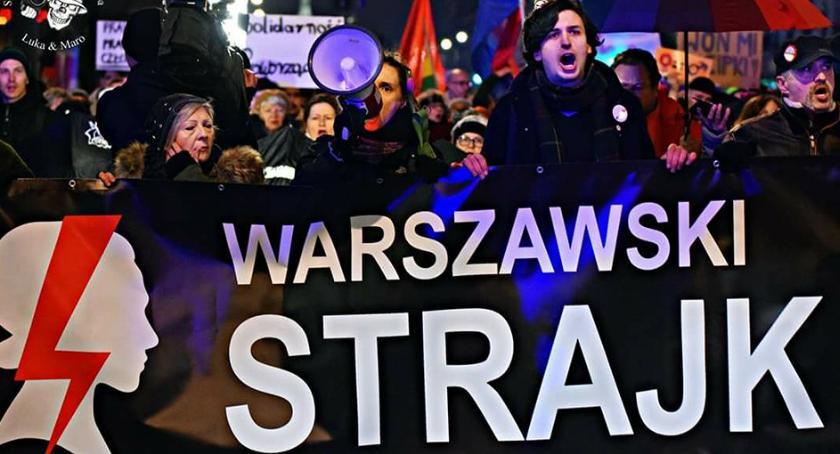 Protesty i manifestacje, Siła kobiet ulicach miasta [ZDJĘCIA] - zdjęcie, fotografia