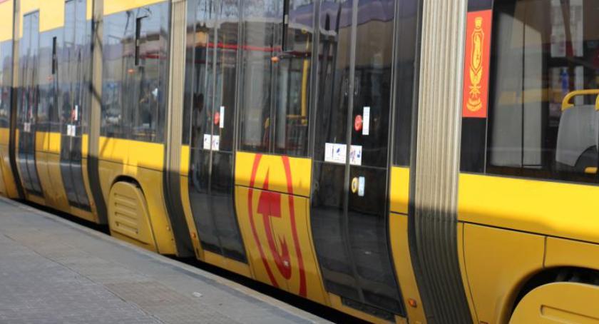 Tramwaje, Uwaga! weekend tramwaje linii zmienionej trasie! - zdjęcie, fotografia