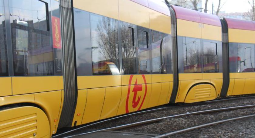 Tramwaje, weekend problemy tramwajami Jagiellońskiej - zdjęcie, fotografia