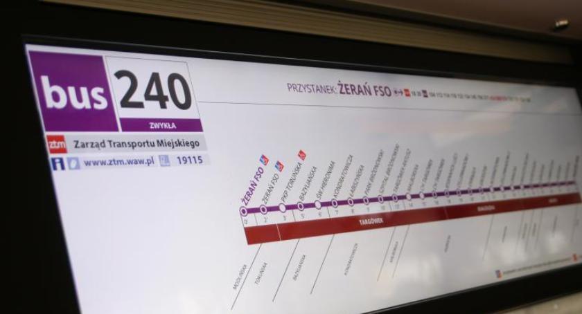 Autobusy, Remont Głębockiej soboty autobusy objazdach - zdjęcie, fotografia