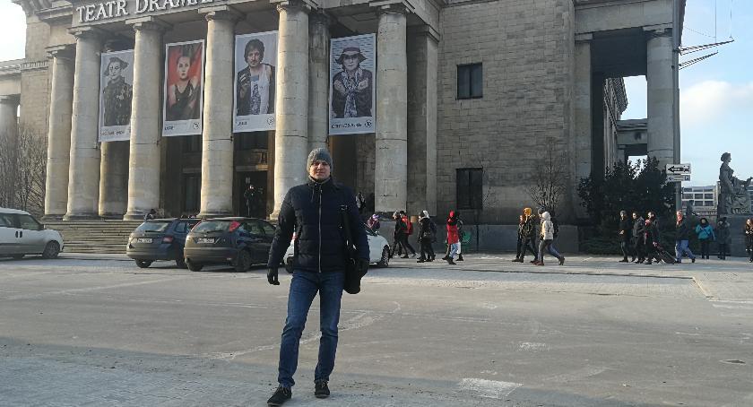 Ludzie PKiN, Paweł opowiada swoich wspomnieniach - zdjęcie, fotografia