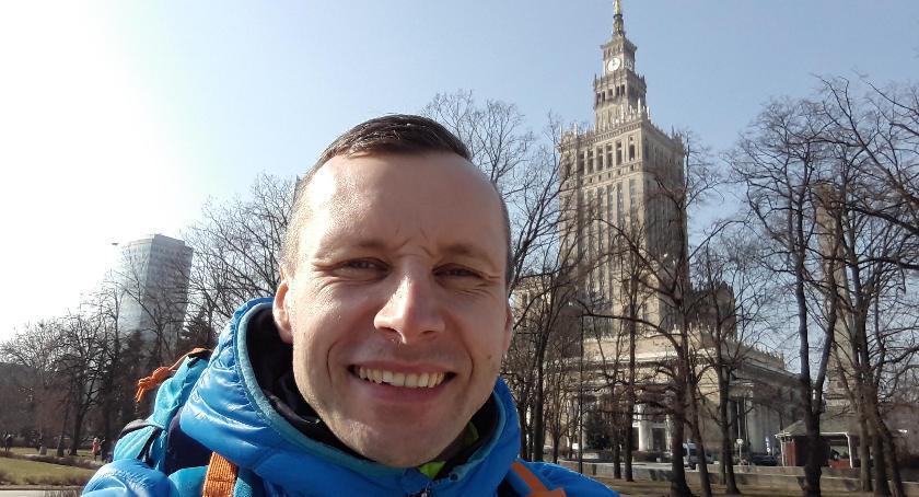 Ludzie PKiN, Tomasz prawdziwy pasjonat Pałacu Kultury Nauki - zdjęcie, fotografia