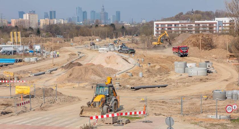 Ulice – place , Czerniakowska Zdjęciowy raport budowy - zdjęcie, fotografia