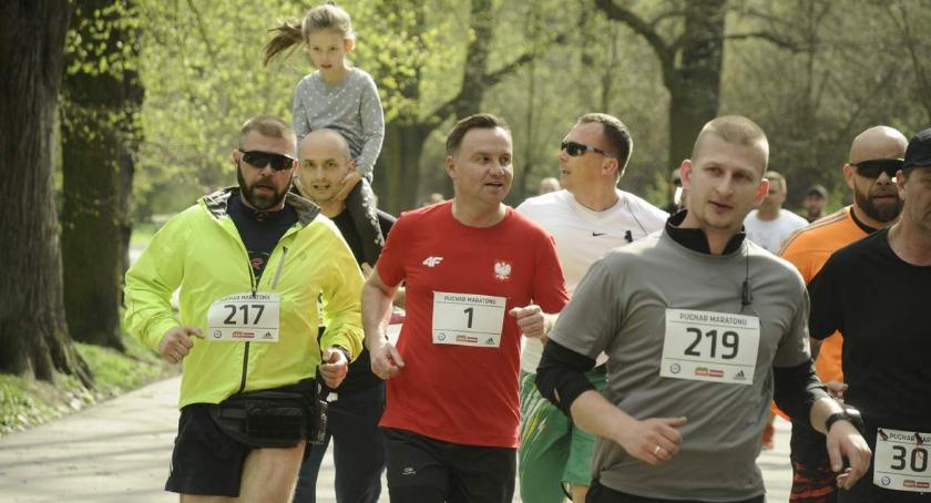 Biegi - maratony, Urodziny Janosika udziałem Prezydenta Andrzeja - zdjęcie, fotografia