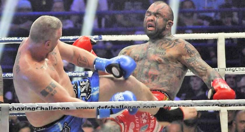 """Imprezy, Wydarzenia, Kickboxing Challenge Marcin Różalski (""""Różal"""") pokonał Petera Grahama - zdjęcie, fotografia"""
